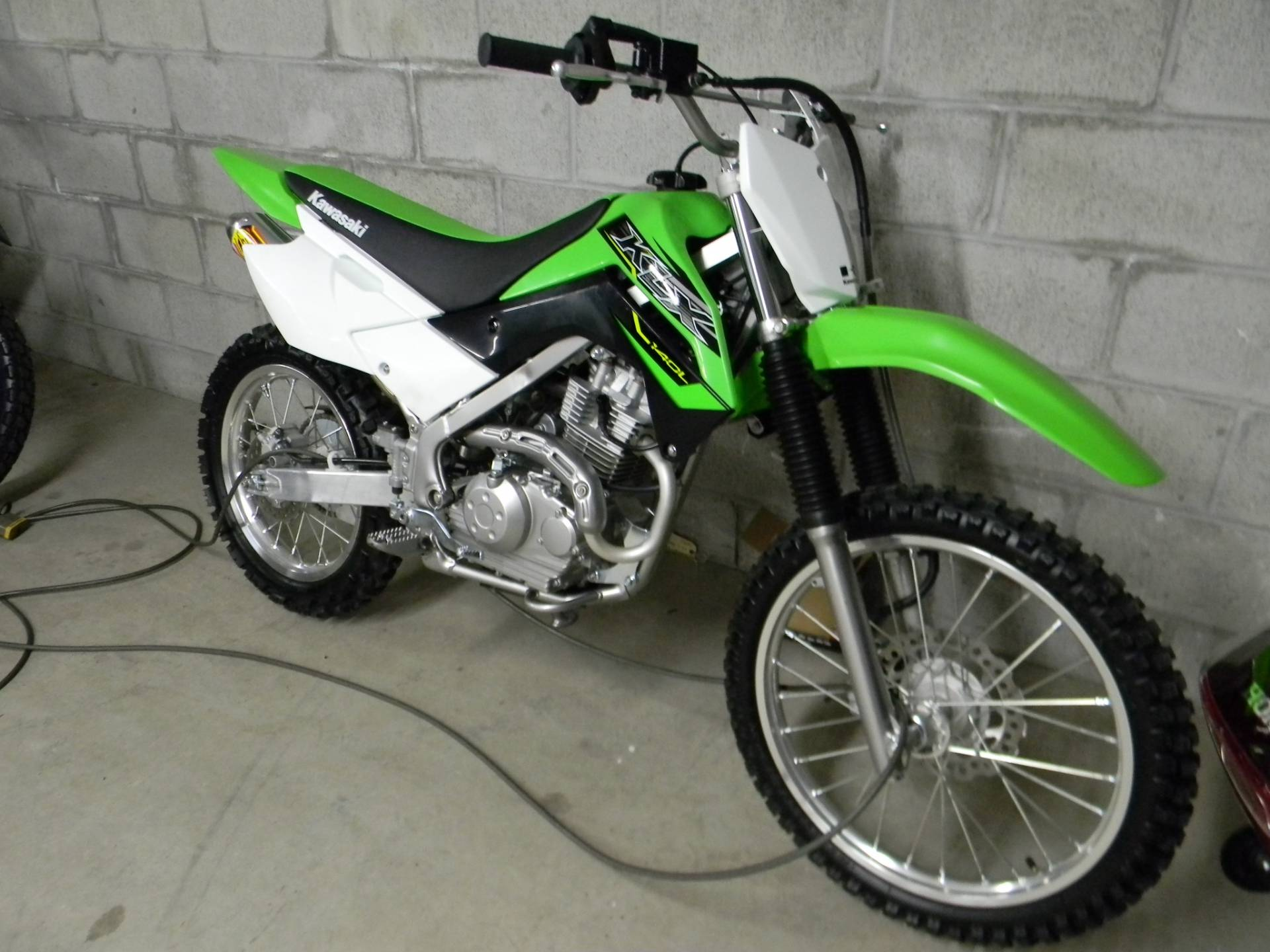2019 Kawasaki KLX 140 in Springfield, Massachusetts - Photo 2