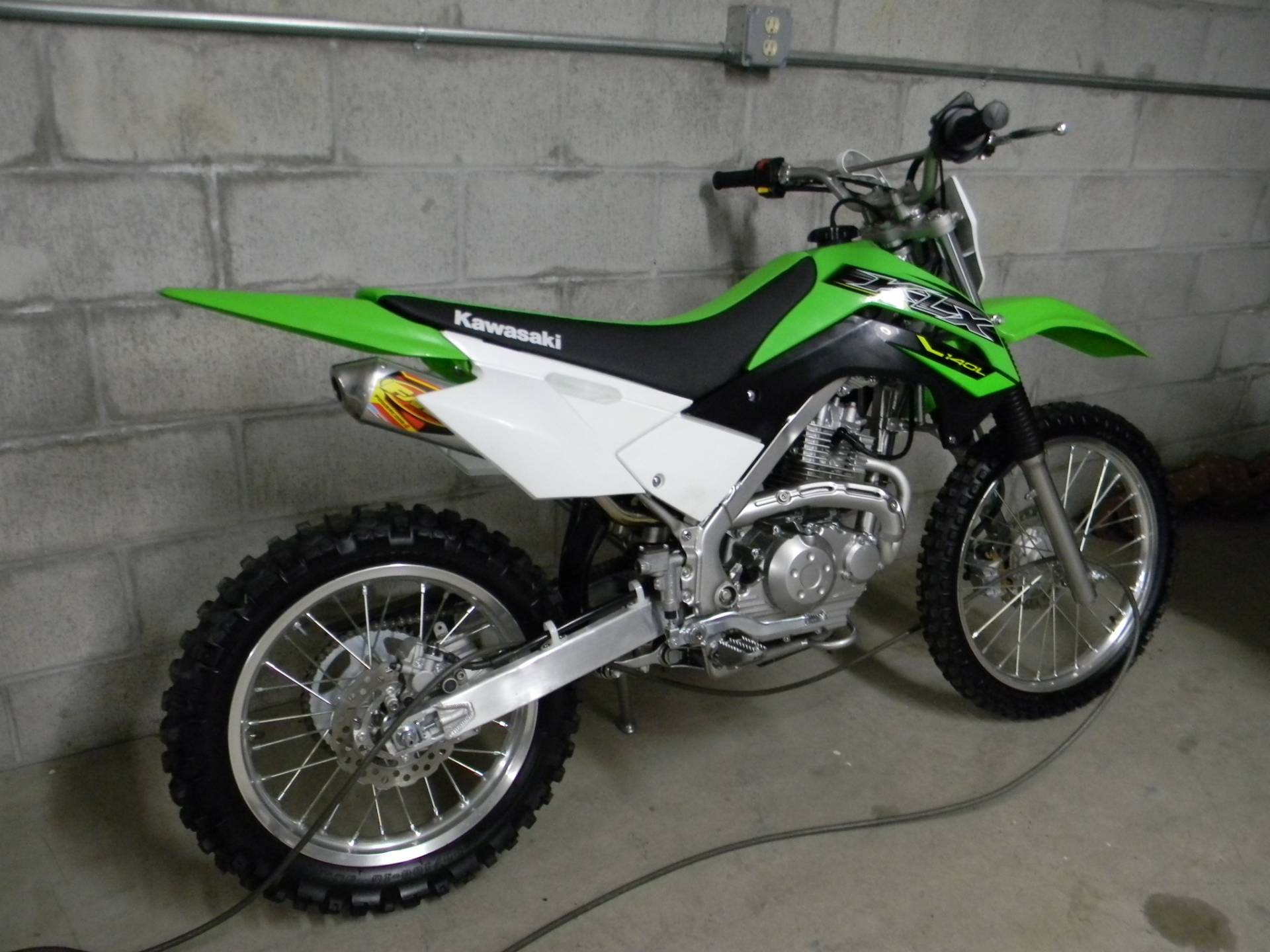 2019 Kawasaki KLX 140 in Springfield, Massachusetts - Photo 3