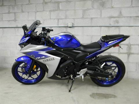 2015 Yamaha YZF-R3 in Springfield, Massachusetts