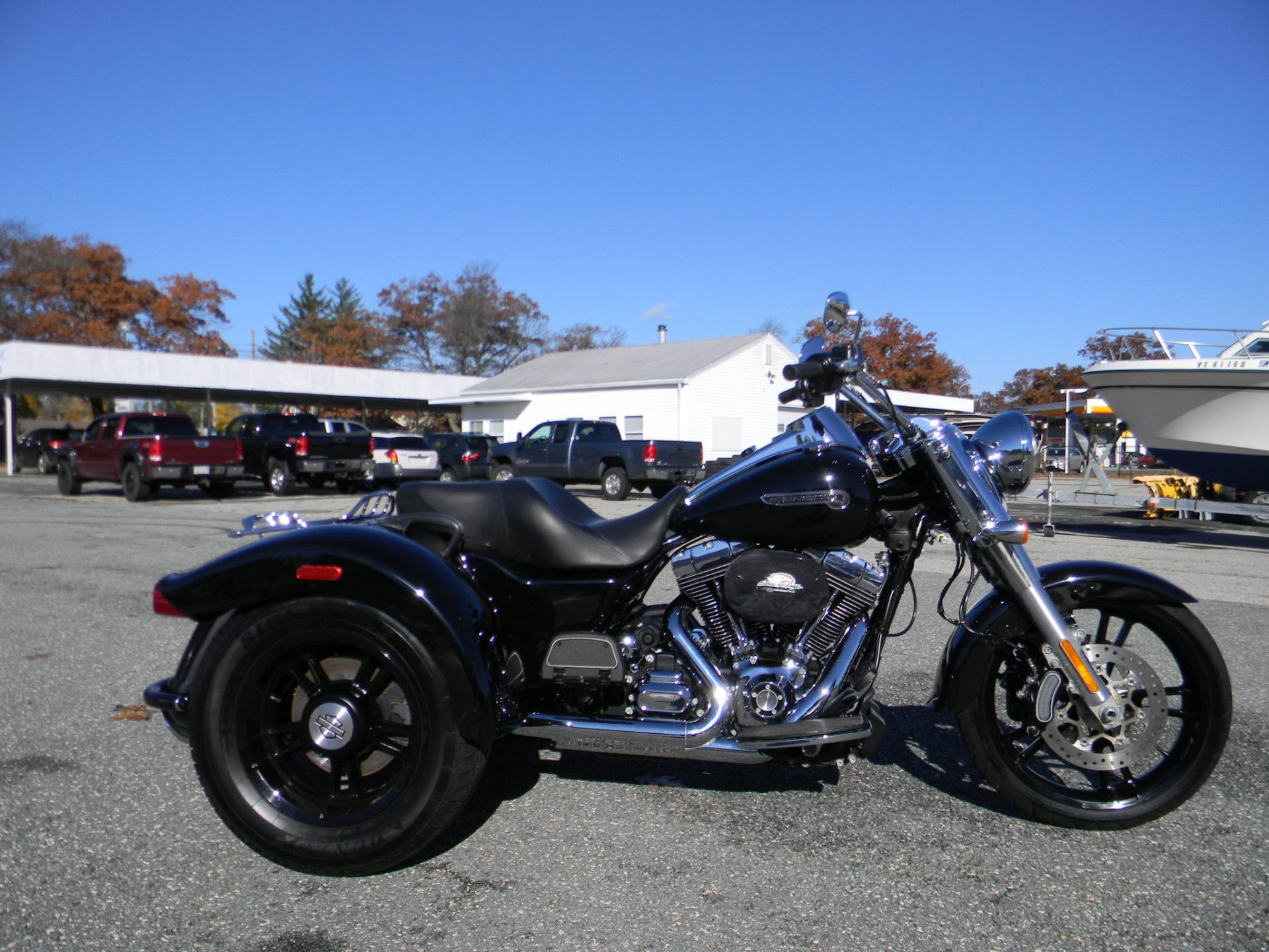 2016 Harley-Davidson Freewheeler™ in Springfield, Massachusetts - Photo 1
