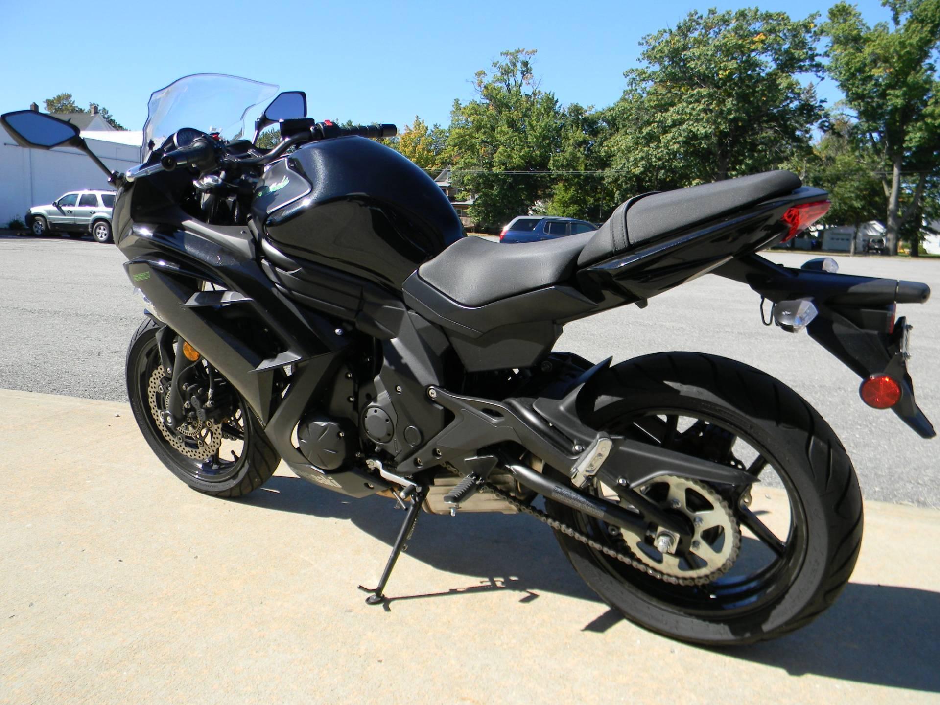 2015 Kawasaki Ninja® 650 ABS in Springfield, Massachusetts