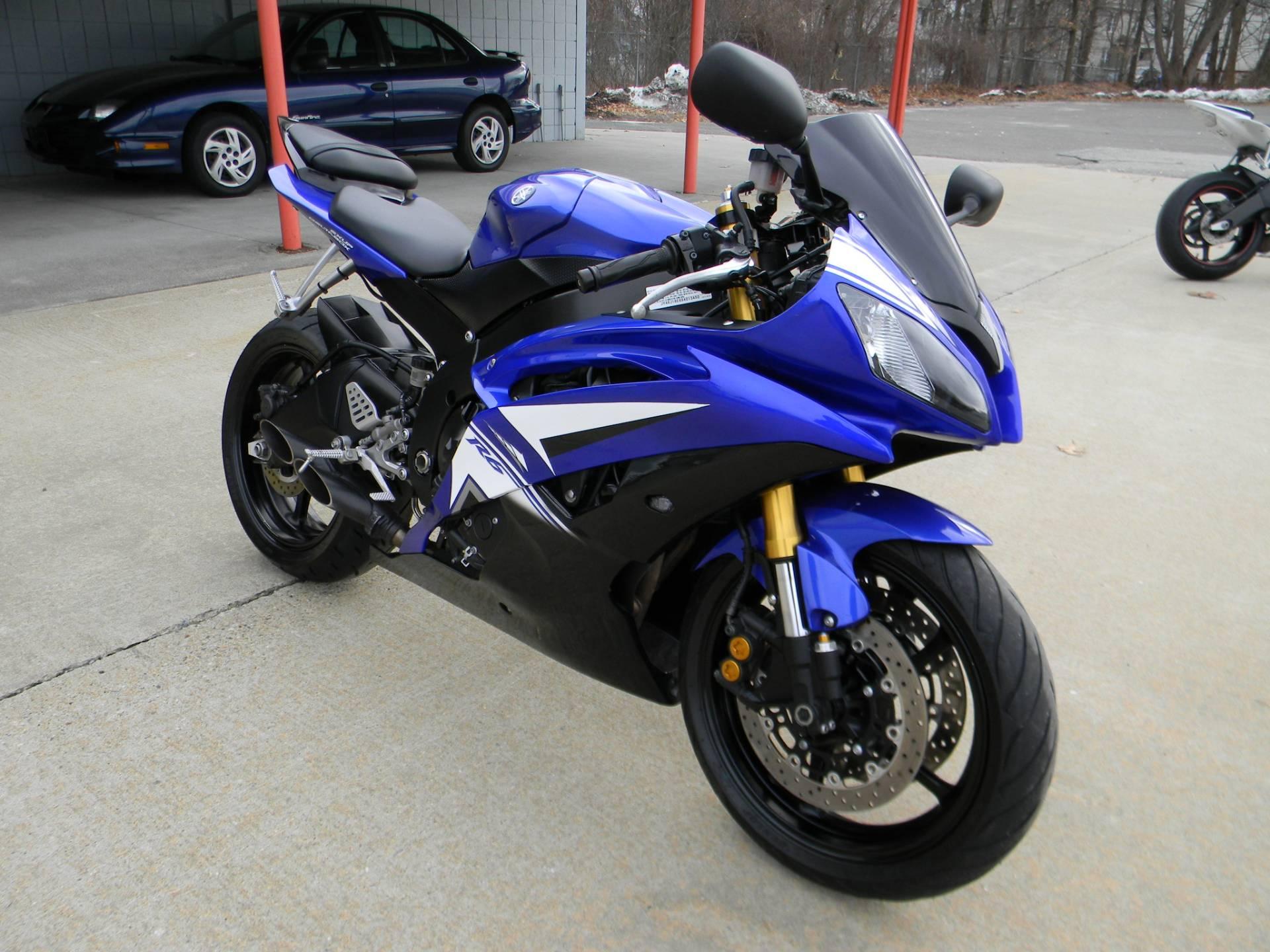 2009 Yamaha YZFR6 2