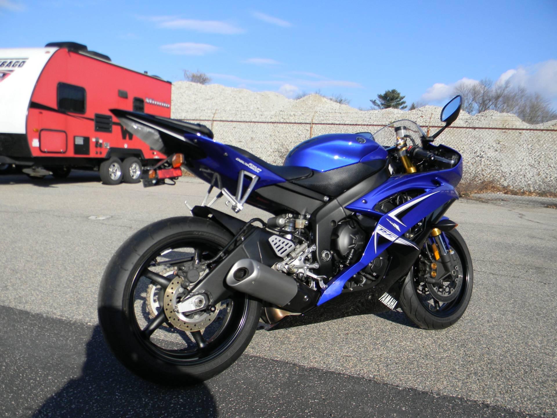 2009 Yamaha YZFR6 3