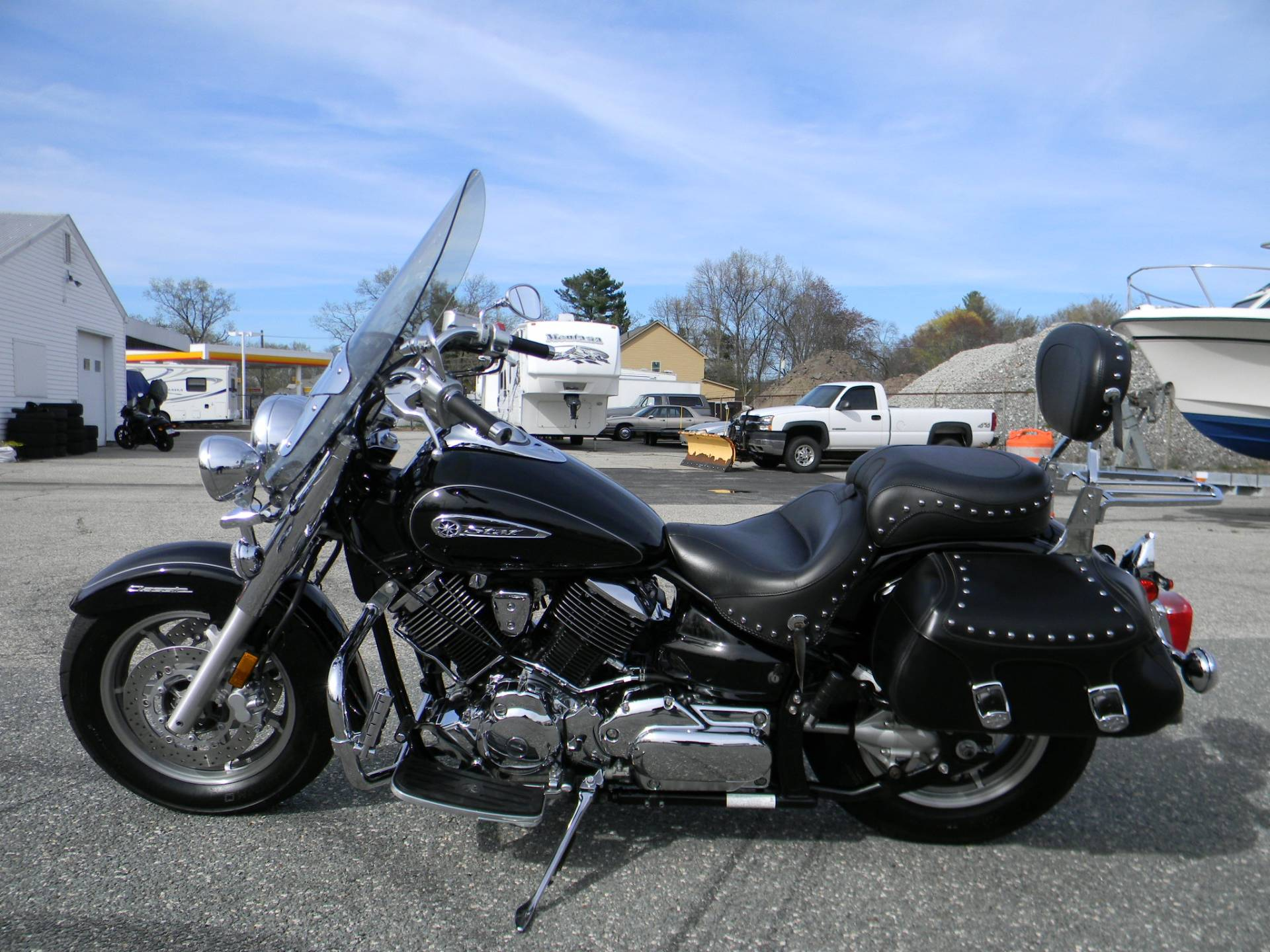 2008 Yamaha V Star® 1100 Silverado® in Springfield, Massachusetts