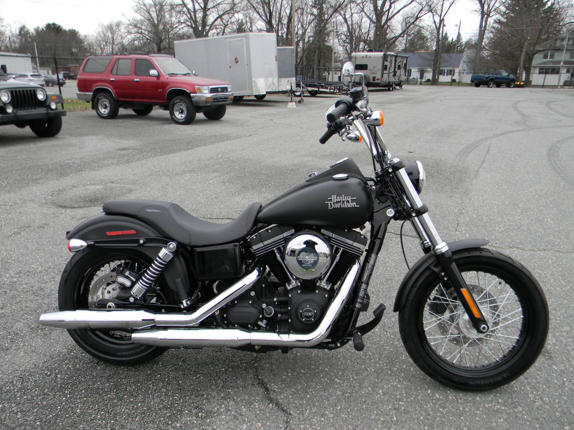 2016 Harley-Davidson Street Bob® in Springfield, Massachusetts - Photo 1