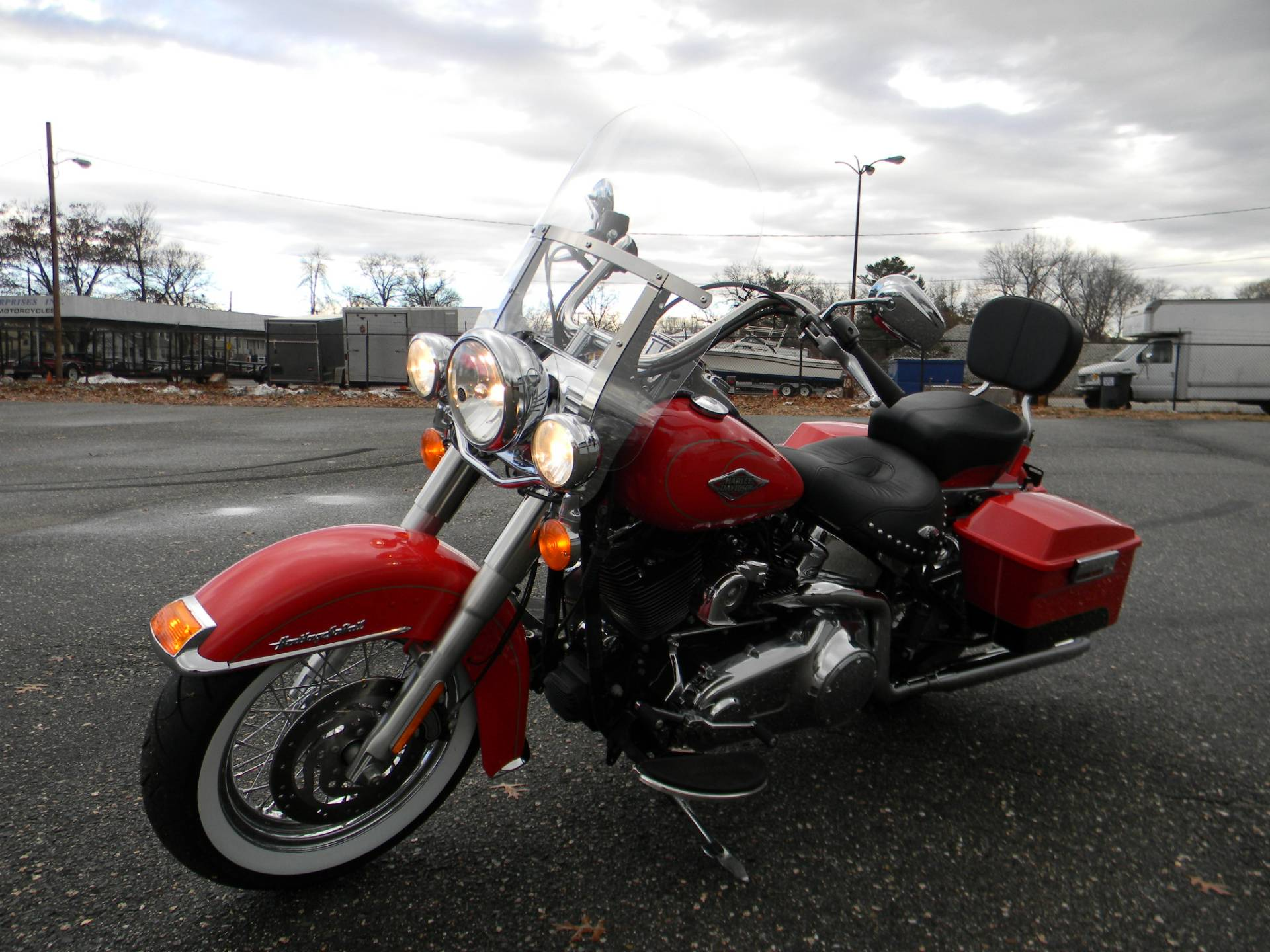 2010 Harley-Davidson Heritage Softail® Classic in Springfield, Massachusetts - Photo 6
