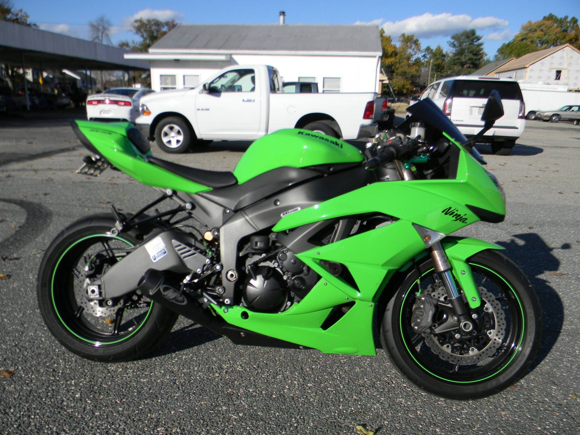 2009 Kawasaki Ninja® ZX™-6R in Springfield, Massachusetts - Photo 1