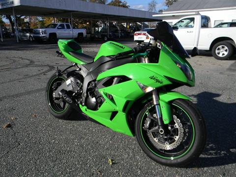 2009 Kawasaki Ninja® ZX™-6R in Springfield, Massachusetts - Photo 2