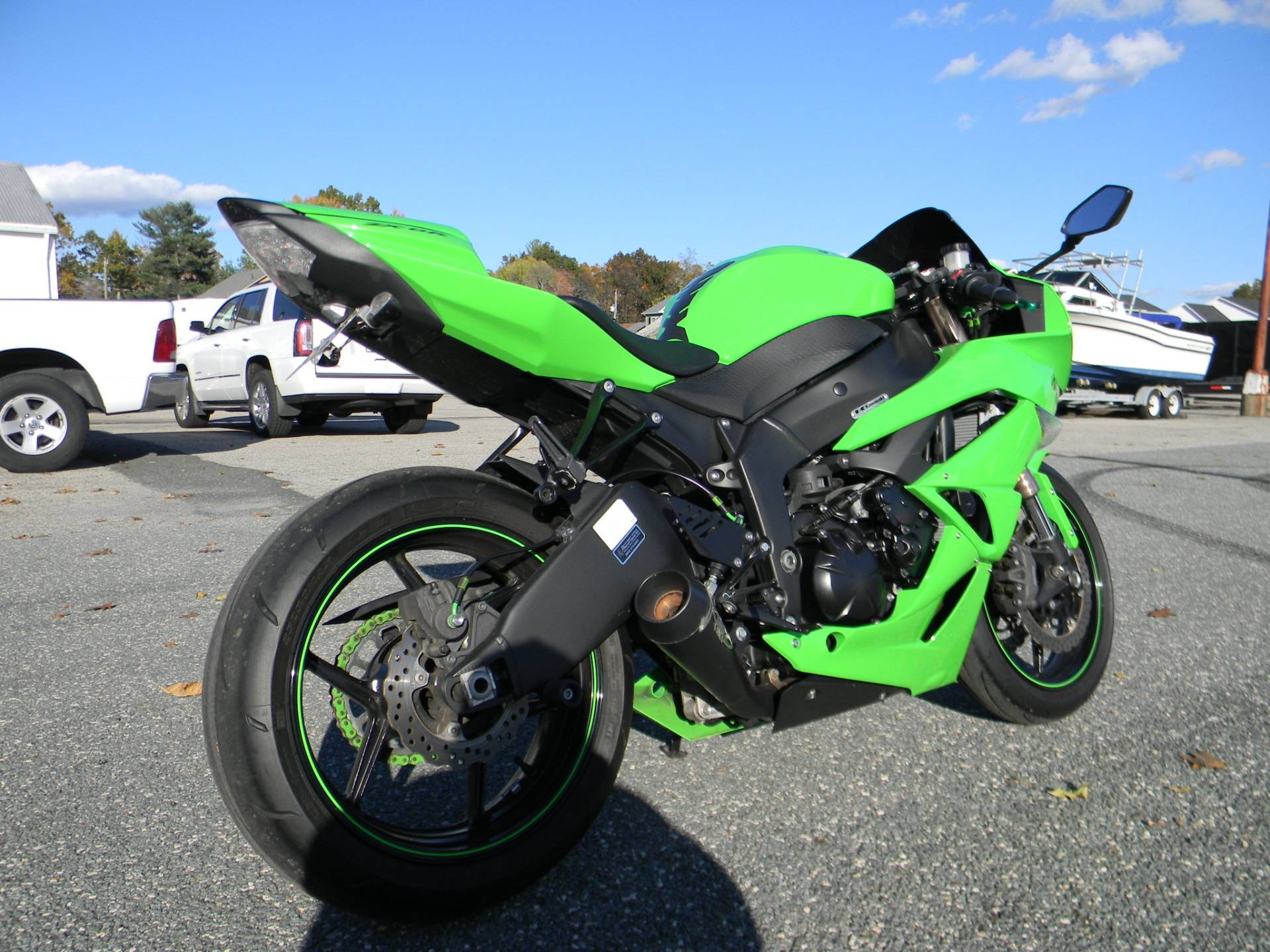 2009 Kawasaki Ninja® ZX™-6R in Springfield, Massachusetts - Photo 3