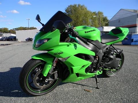 2009 Kawasaki Ninja® ZX™-6R in Springfield, Massachusetts - Photo 5