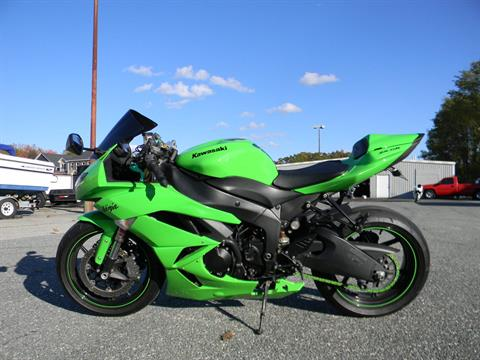 2009 Kawasaki Ninja® ZX™-6R in Springfield, Massachusetts - Photo 6