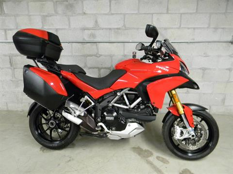2012 Ducati Multistrada 1200 S Touring in Springfield, Massachusetts - Photo 1