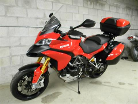 2012 Ducati Multistrada 1200 S Touring in Springfield, Massachusetts - Photo 5