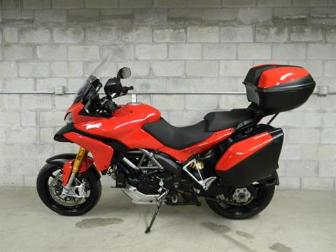 2012 Ducati Multistrada 1200 S Touring in Springfield, Massachusetts