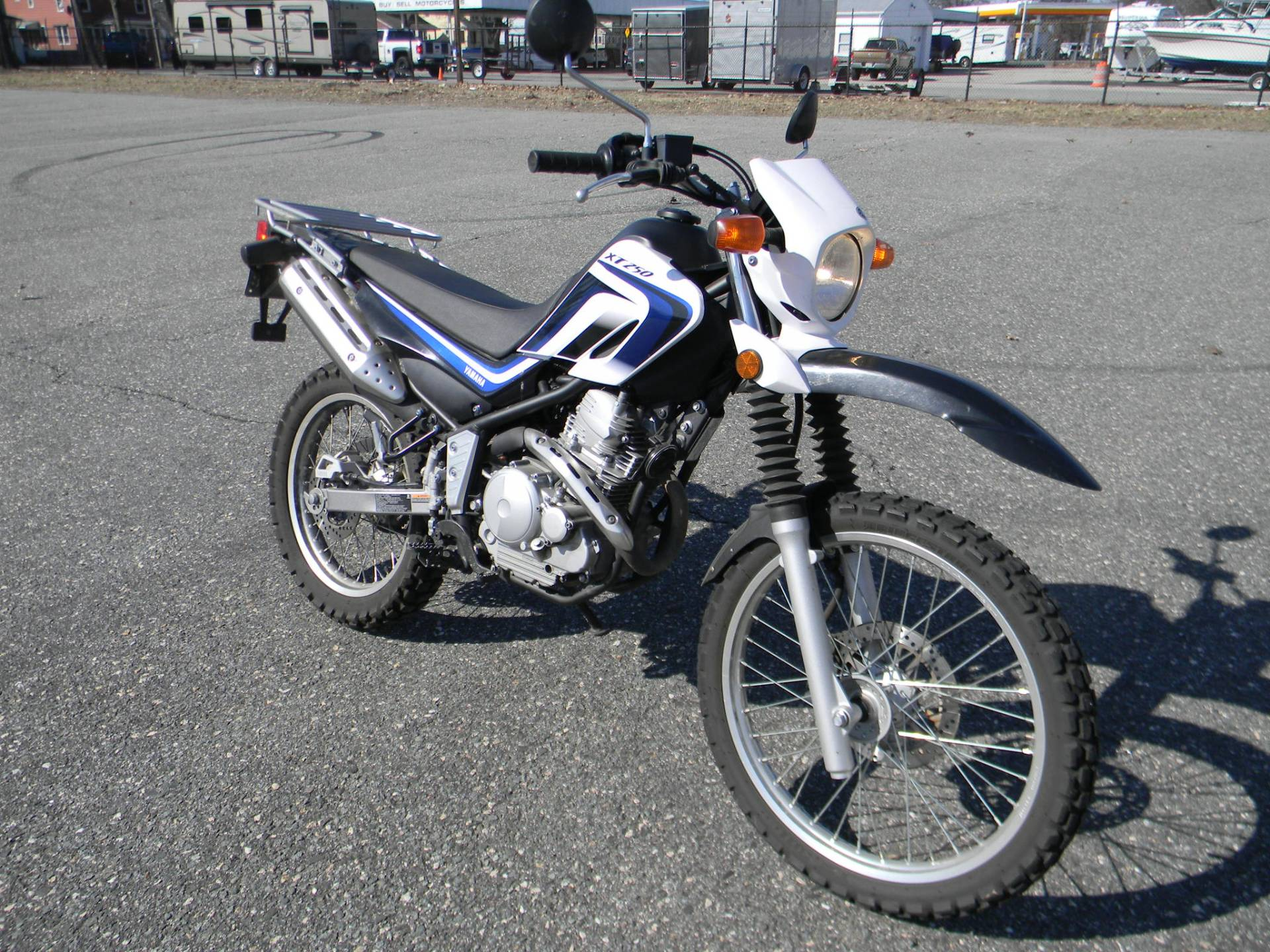 2013 Yamaha XT250 in Springfield, Massachusetts