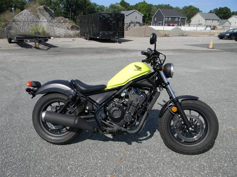 2017 Honda Rebel 500 in Springfield, Massachusetts - Photo 1