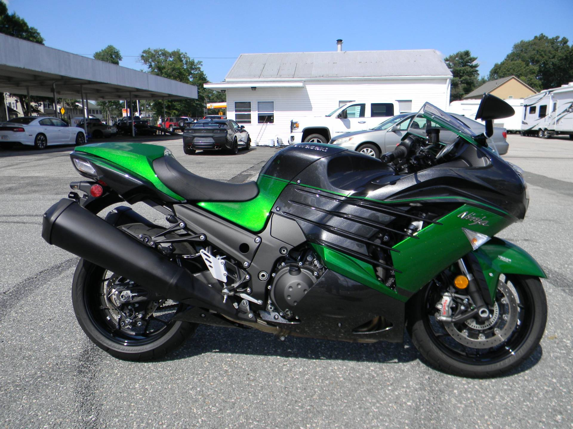 2018 Kawasaki Ninja ZX-14R ABS SE in Springfield, Massachusetts - Photo 1