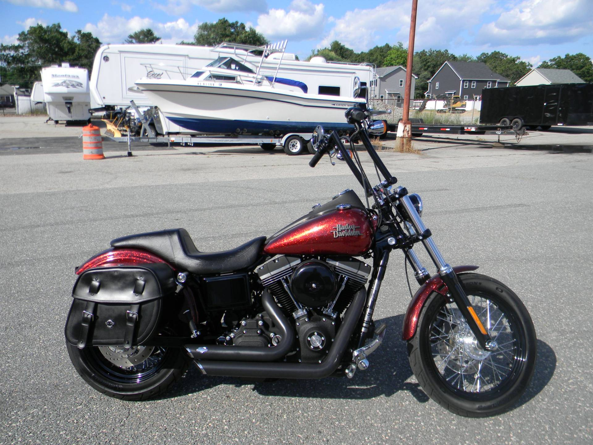 2013 Harley-Davidson Dyna® Street Bob® in Springfield, Massachusetts - Photo 1