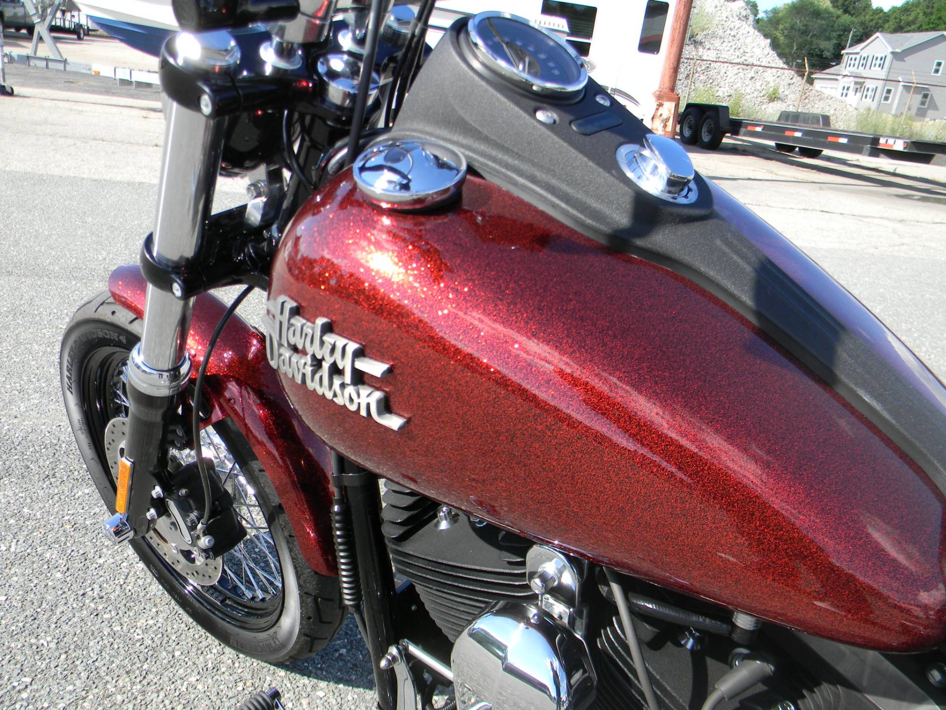 2013 Harley-Davidson Dyna® Street Bob® in Springfield, Massachusetts - Photo 9