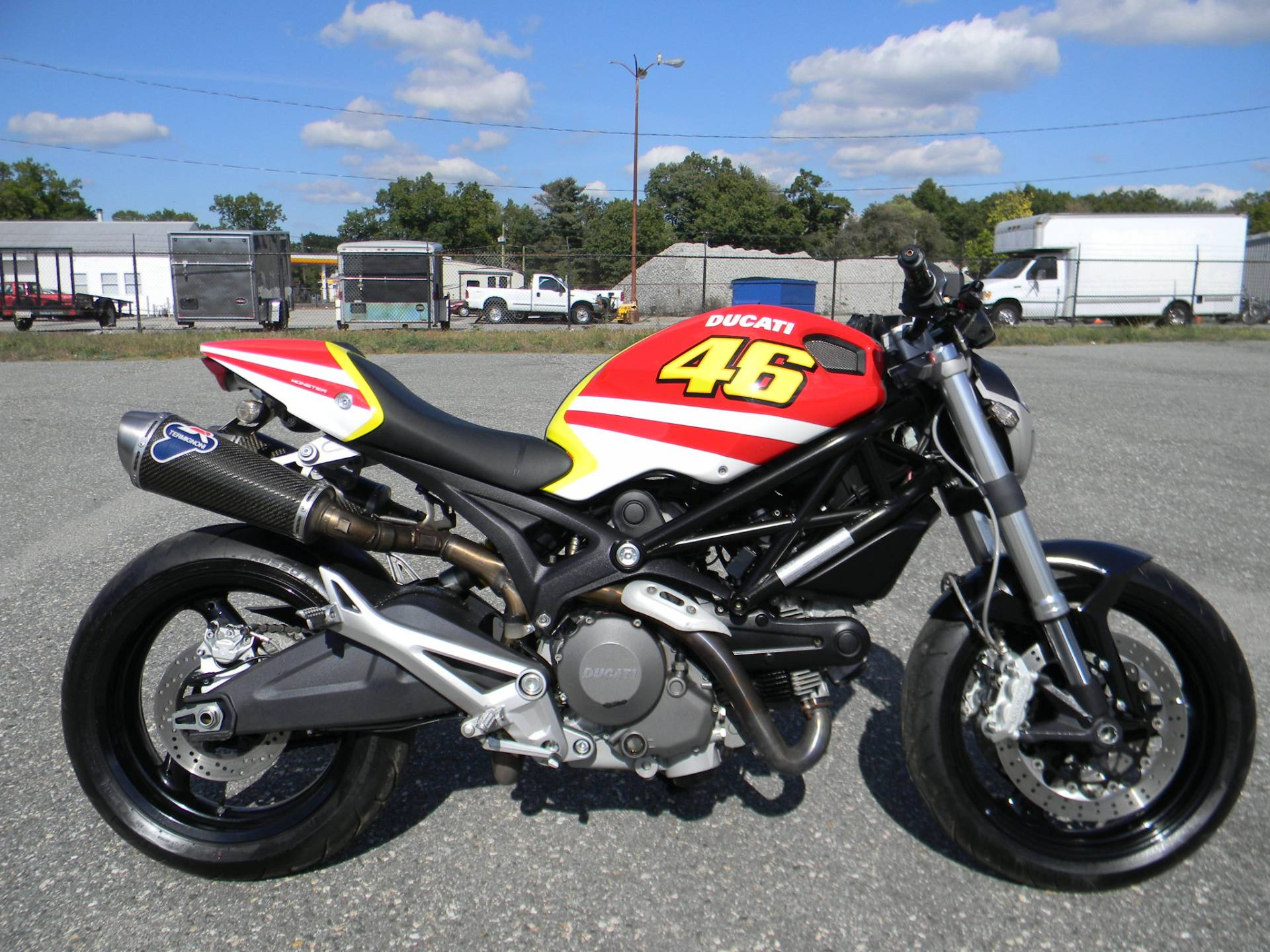 2009 Ducati Monster 696 in Springfield, Massachusetts