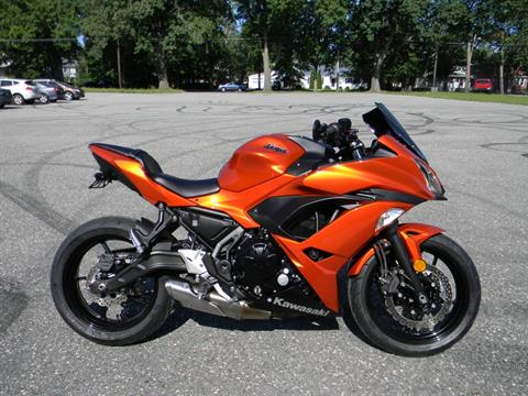 2017 Kawasaki Ninja 650 in Springfield, Massachusetts