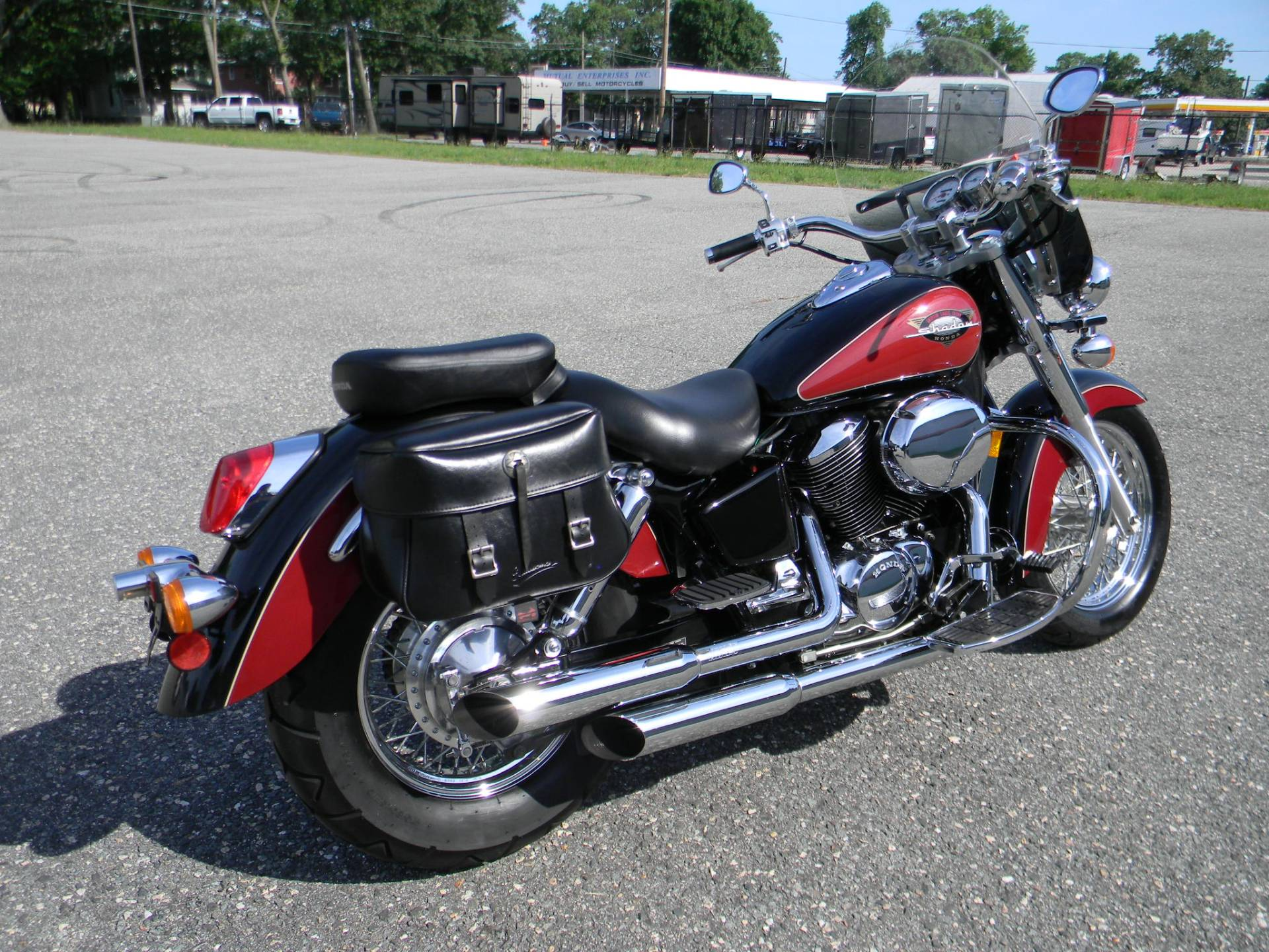1999 Honda Shadow Ace in Springfield, Massachusetts - Photo 3