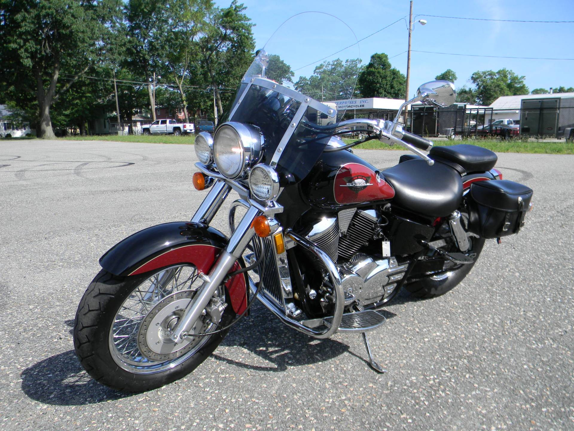 1999 Honda Shadow Ace in Springfield, Massachusetts - Photo 4