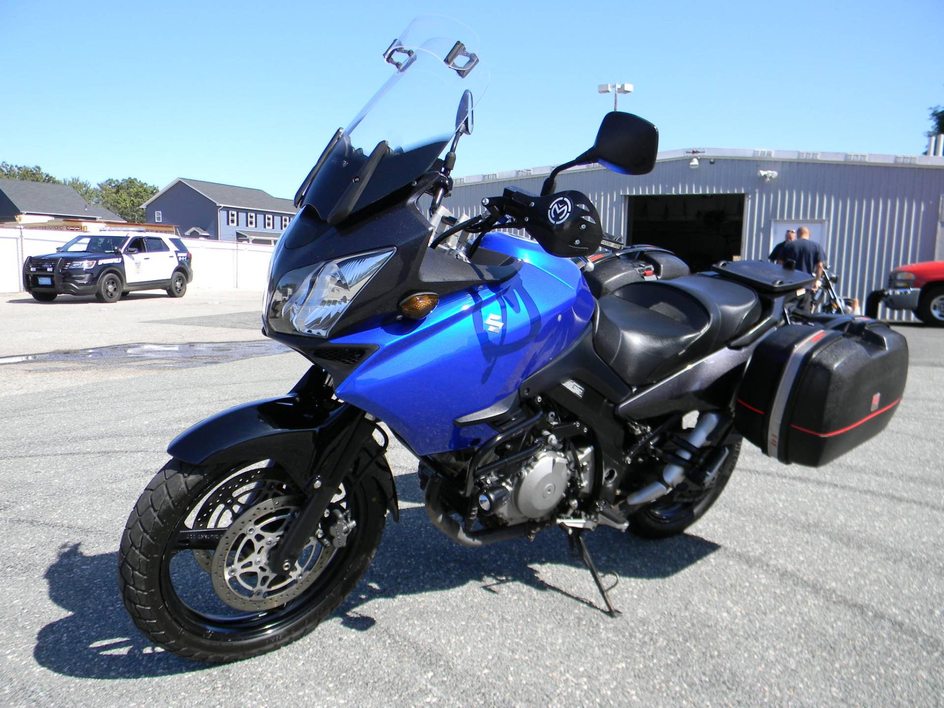 2007 Suzuki V-Strom® 1000 in Springfield, Massachusetts - Photo 4