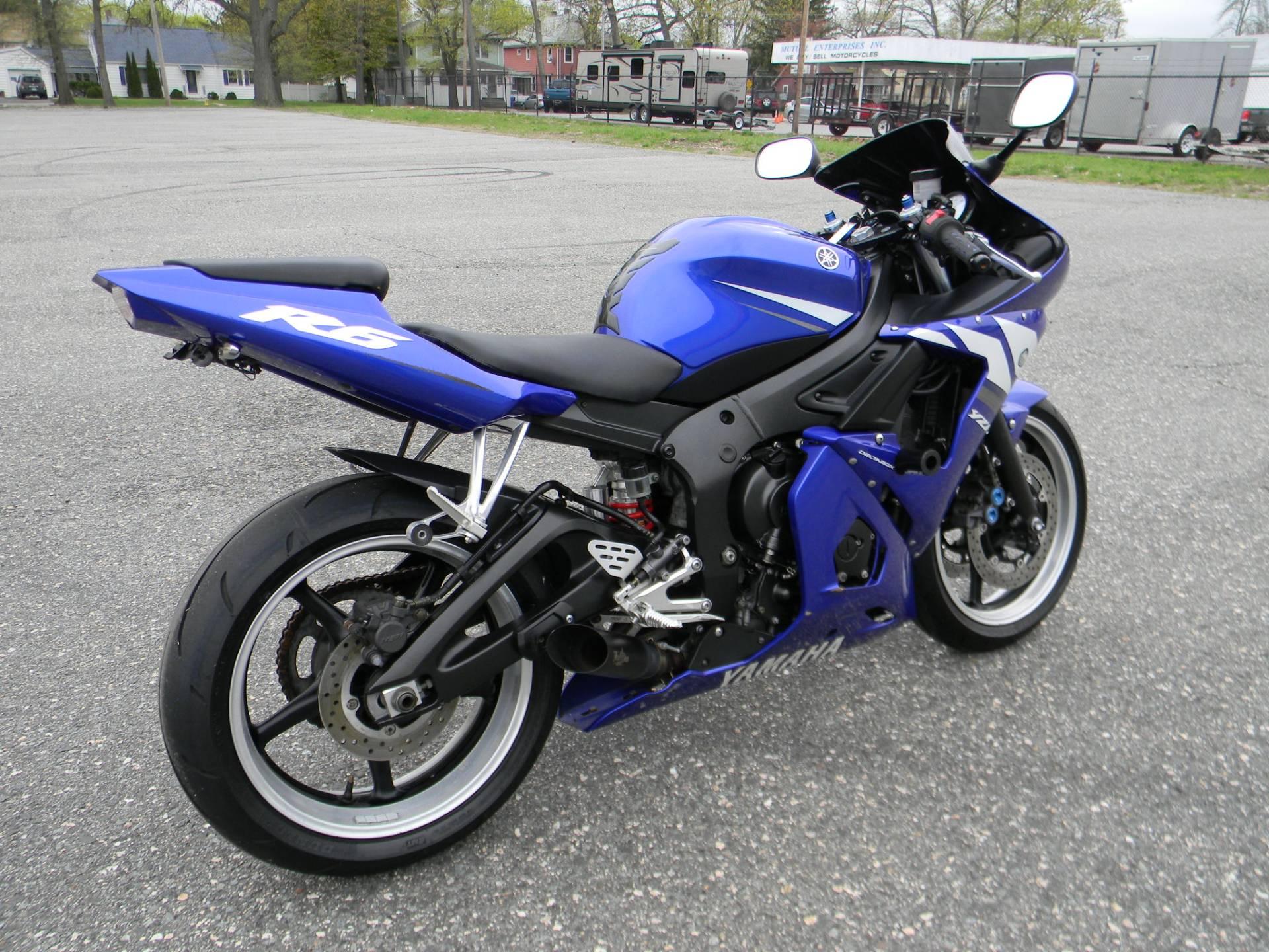2003 Yamaha YZF-R6 3