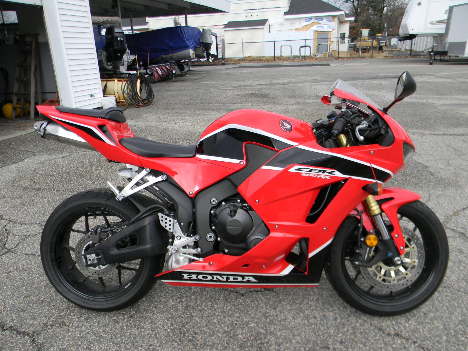 2017 Honda CBR600RR in Springfield, Massachusetts - Photo 1