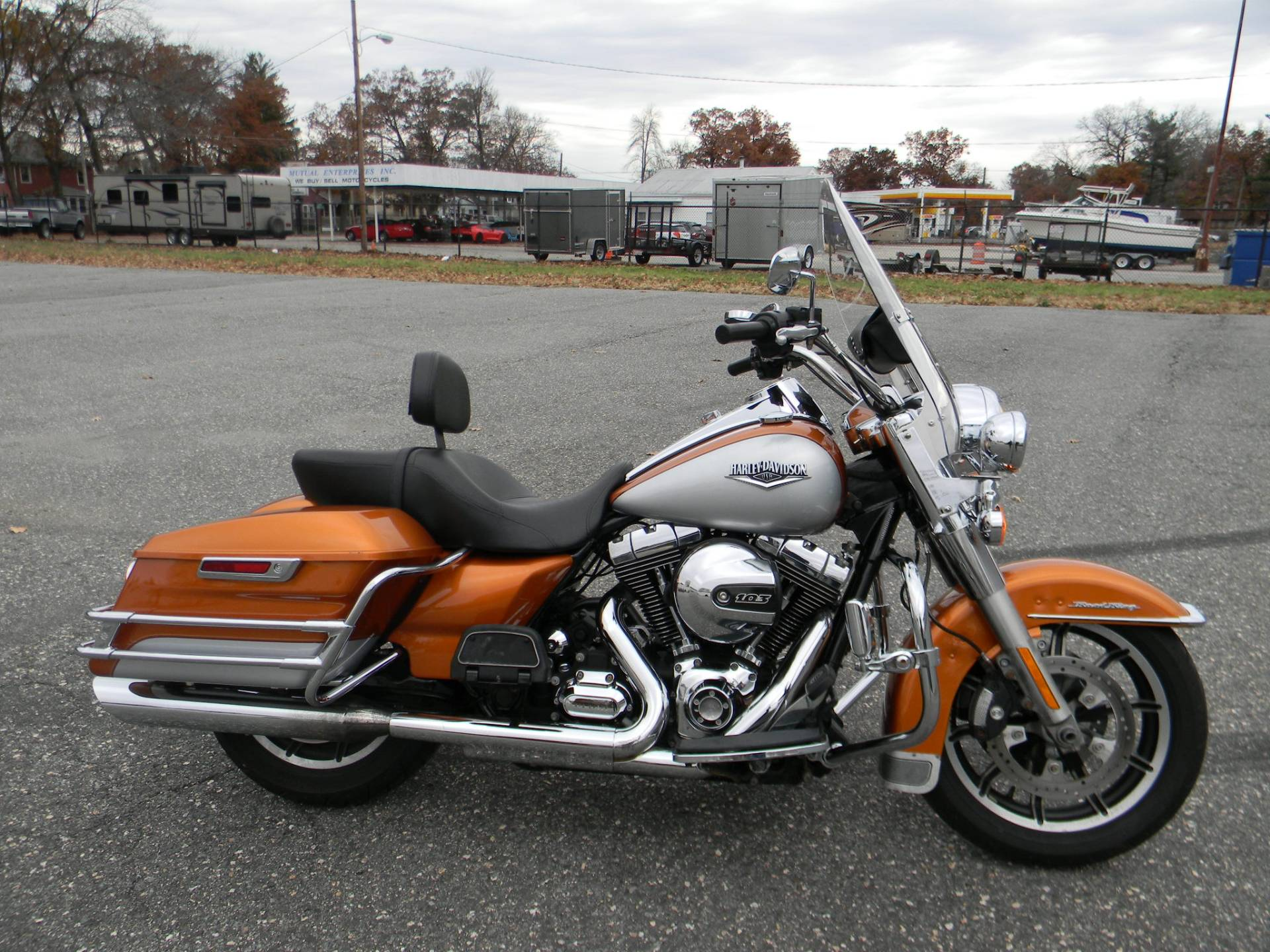 2014 Harley-Davidson Road King® in Springfield, Massachusetts
