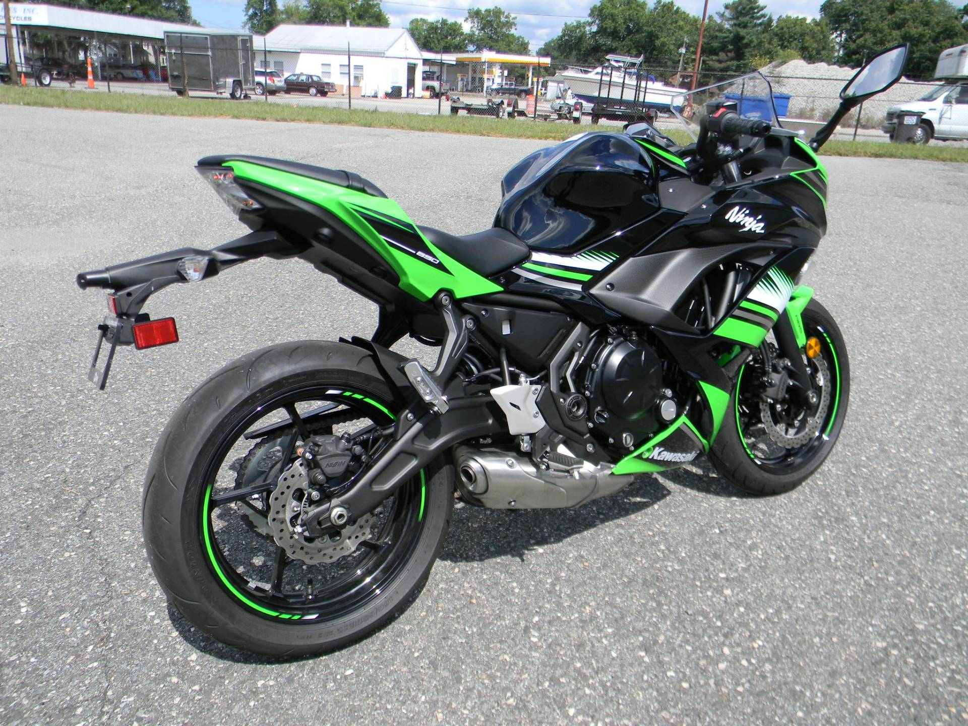 2017 Kawasaki Ninja 650 ABS KRT Edition in Springfield, Massachusetts
