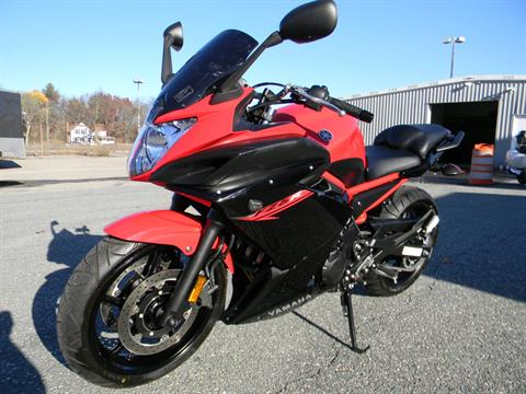 2015 Yamaha FZ6R in Springfield, Massachusetts