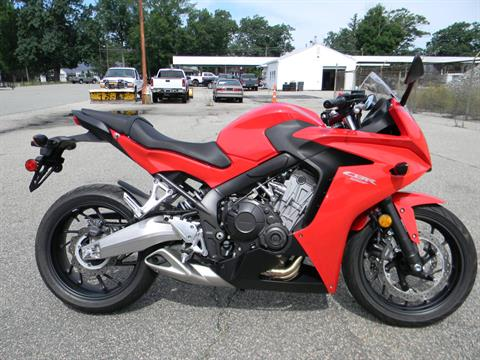 2014 Honda CBR®650F in Springfield, Massachusetts