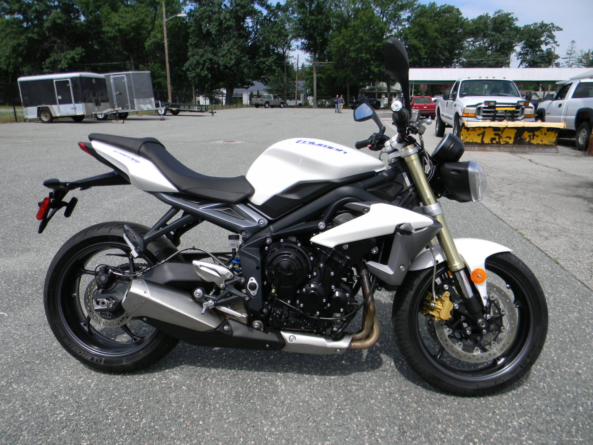2013 Triumph Street Triple ABS in Springfield, Massachusetts