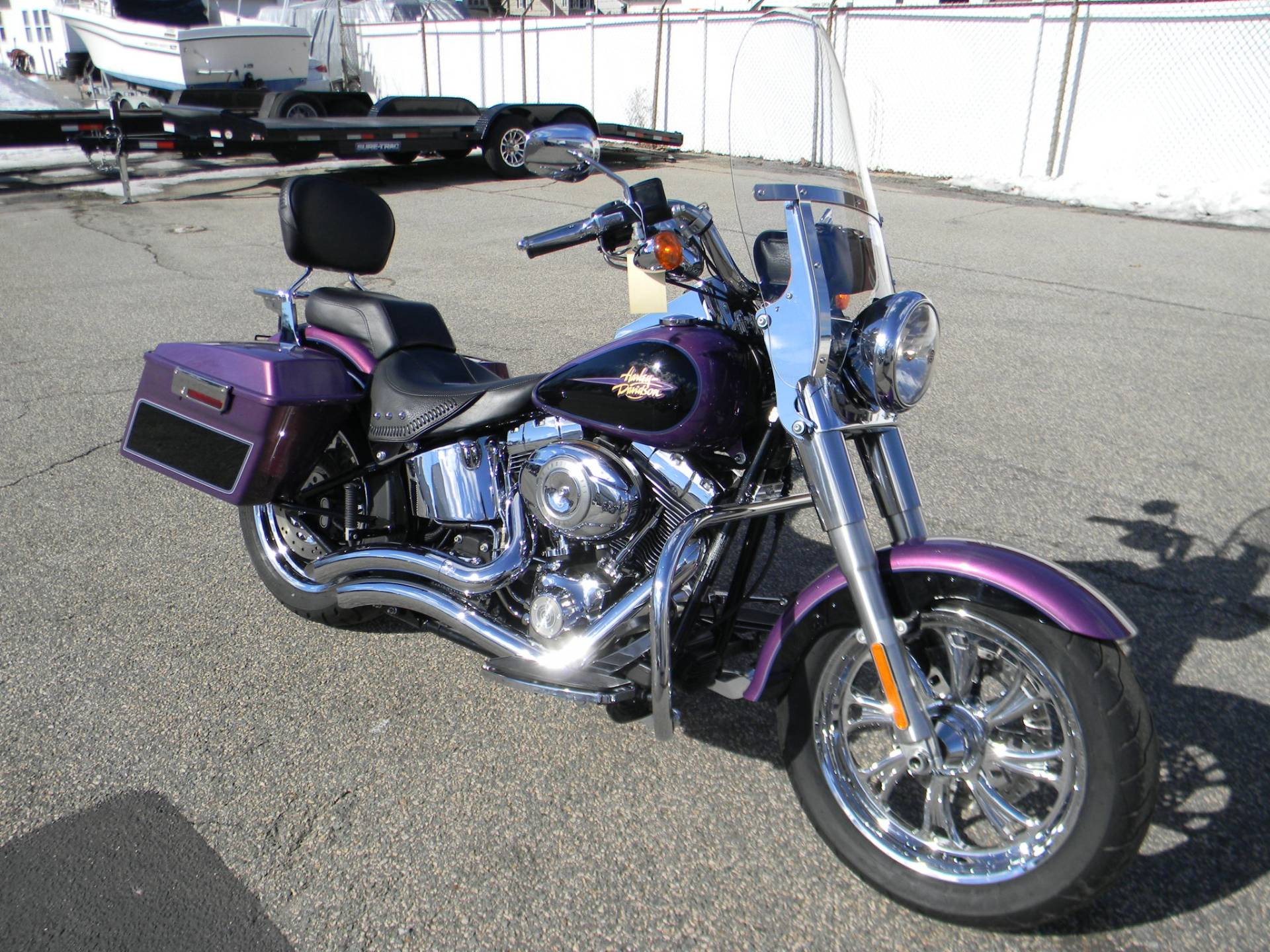 2011 Harley-Davidson Softail® Fat Boy® in Springfield, Massachusetts - Photo 2
