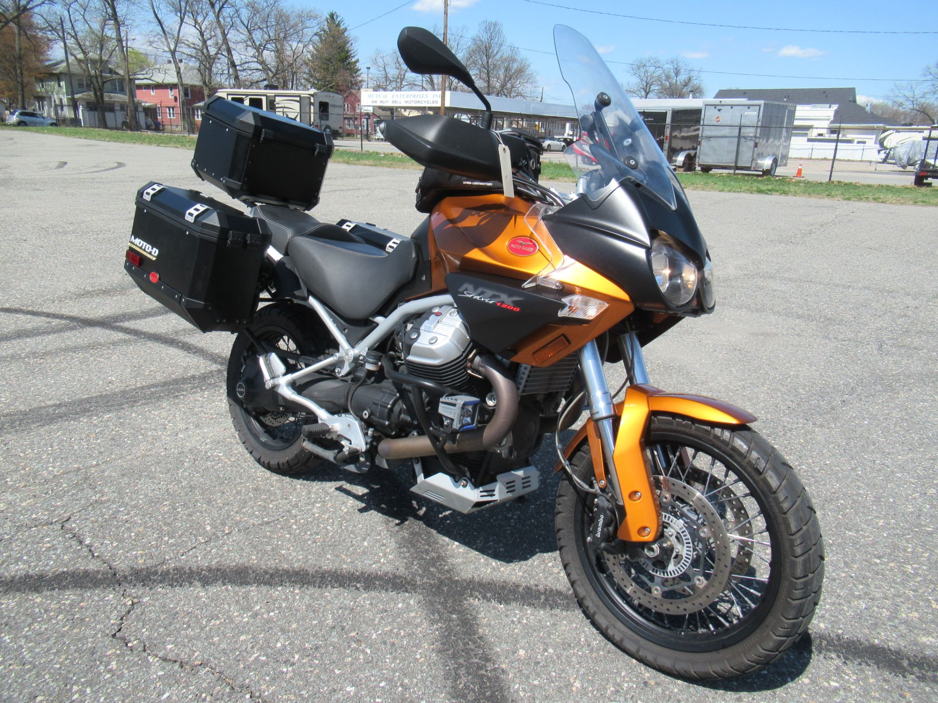 2013 Moto Guzzi Stelvio 1200 NTX ABS in Springfield, Massachusetts - Photo 2