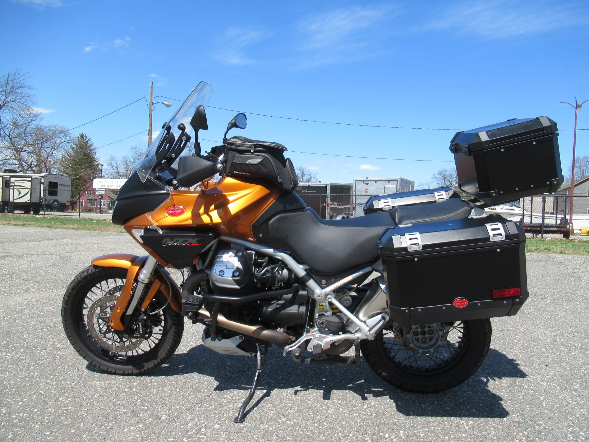 2013 Moto Guzzi Stelvio 1200 NTX ABS in Springfield, Massachusetts - Photo 6
