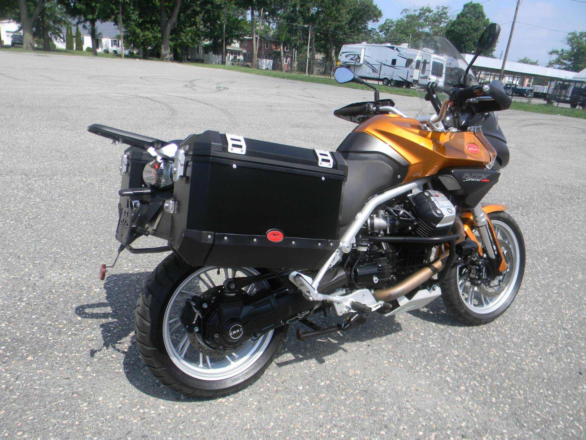 2013 Moto Guzzi Stelvio 1200 NTX ABS in Springfield, Massachusetts - Photo 3