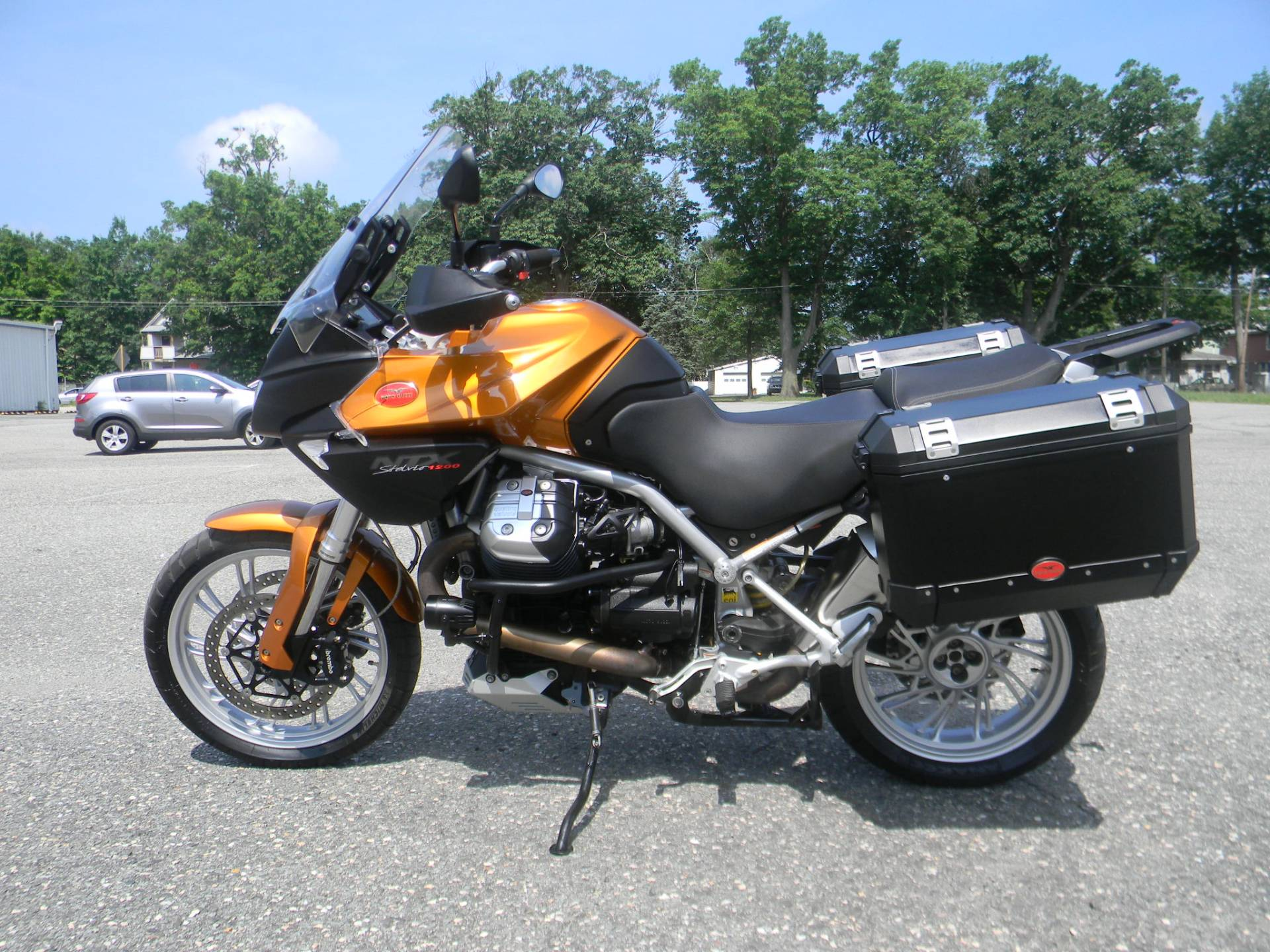 2013 Moto Guzzi Stelvio 1200 NTX ABS in Springfield, Massachusetts - Photo 5