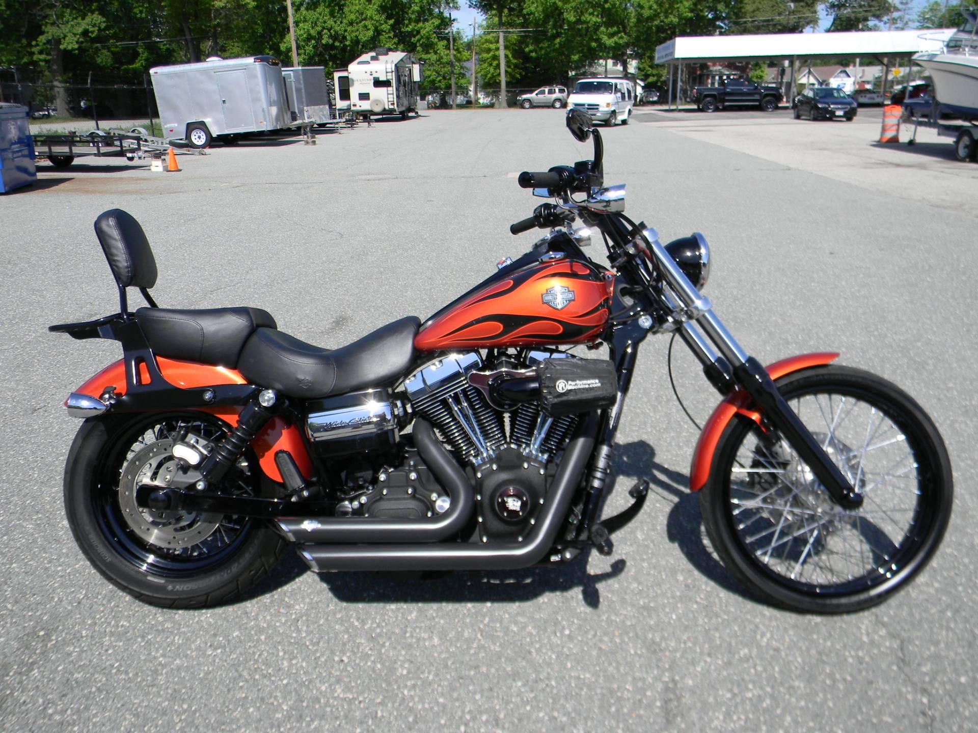 Harley Dyna Wide Glide >> 2011 Harley Davidson Dyna Wide Glide Motorcycles Springfield