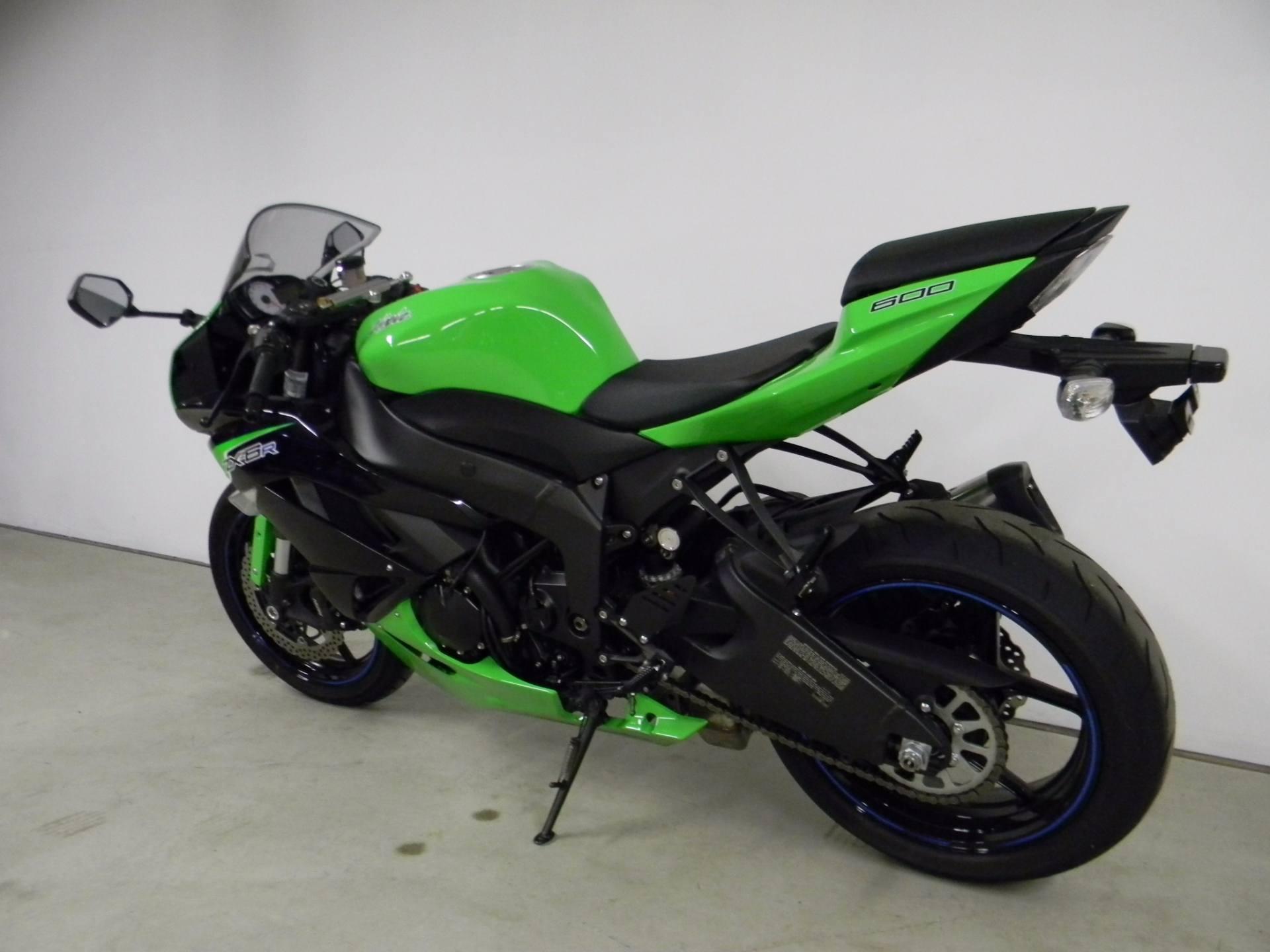 2012 Kawasaki Ninja® ZX™-6R in Springfield, Massachusetts