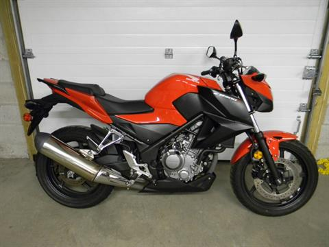 2015 Honda CB300F in Springfield, Massachusetts