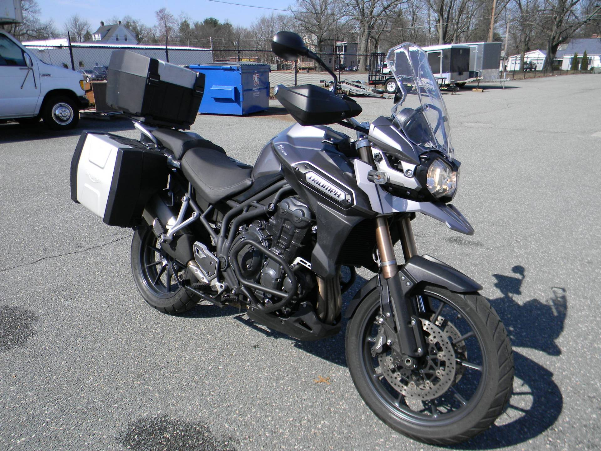 2015 Triumph Tiger Explorer ABS in Springfield, Massachusetts
