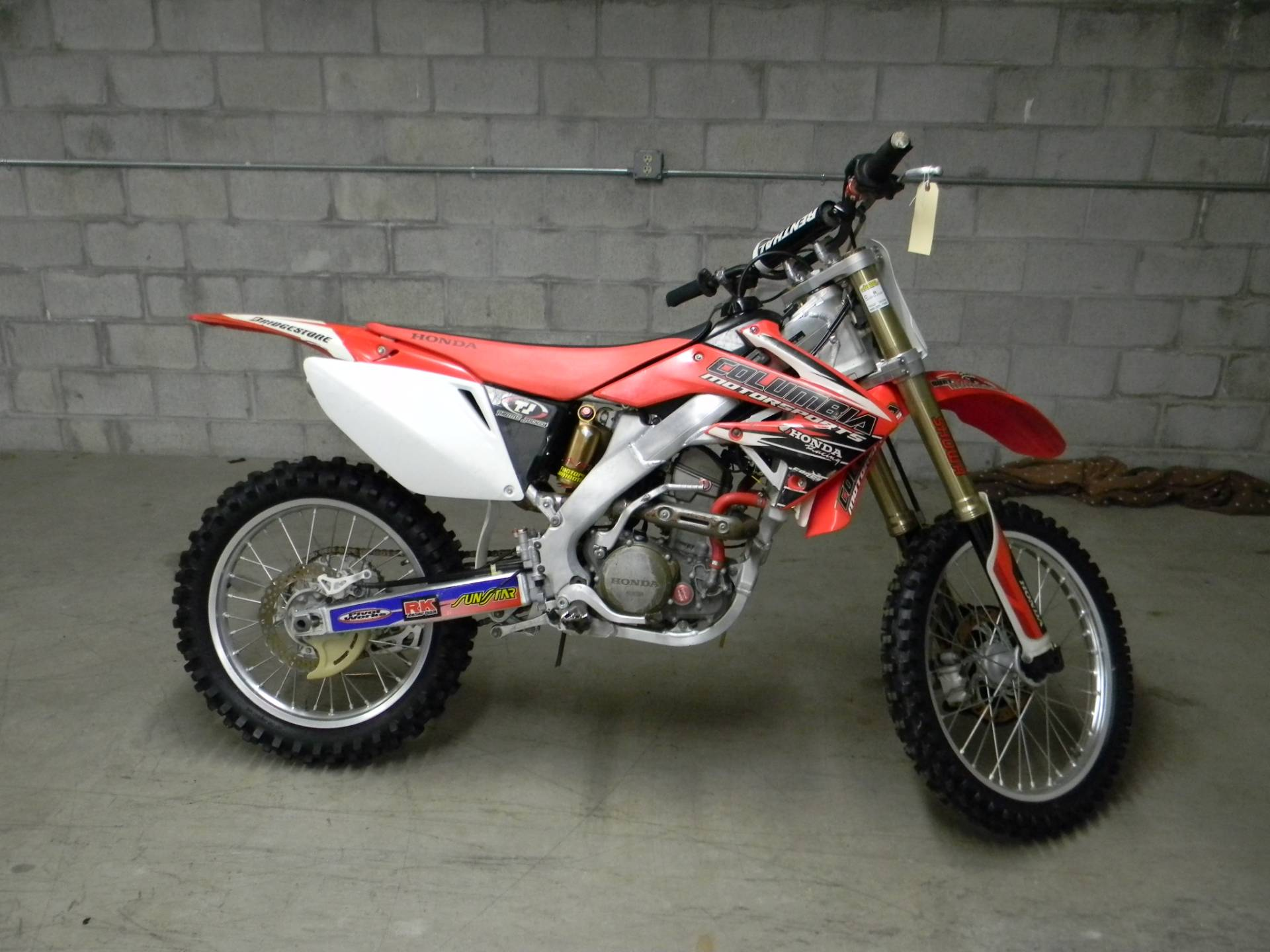2008 Honda CRF®250R in Springfield, Massachusetts - Photo 1