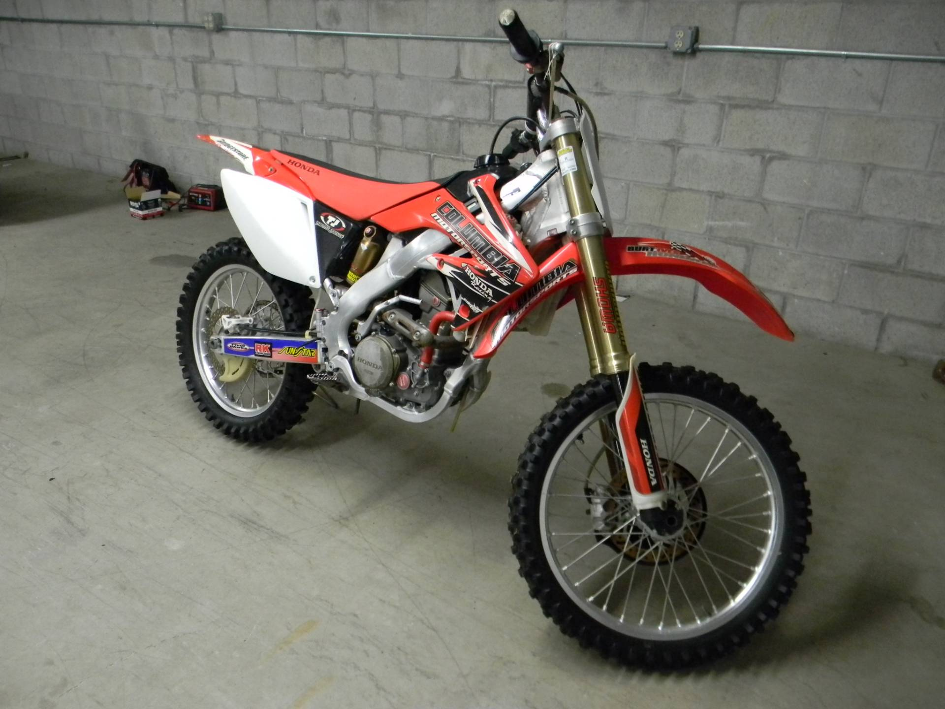 2008 Honda CRF®250R in Springfield, Massachusetts - Photo 2