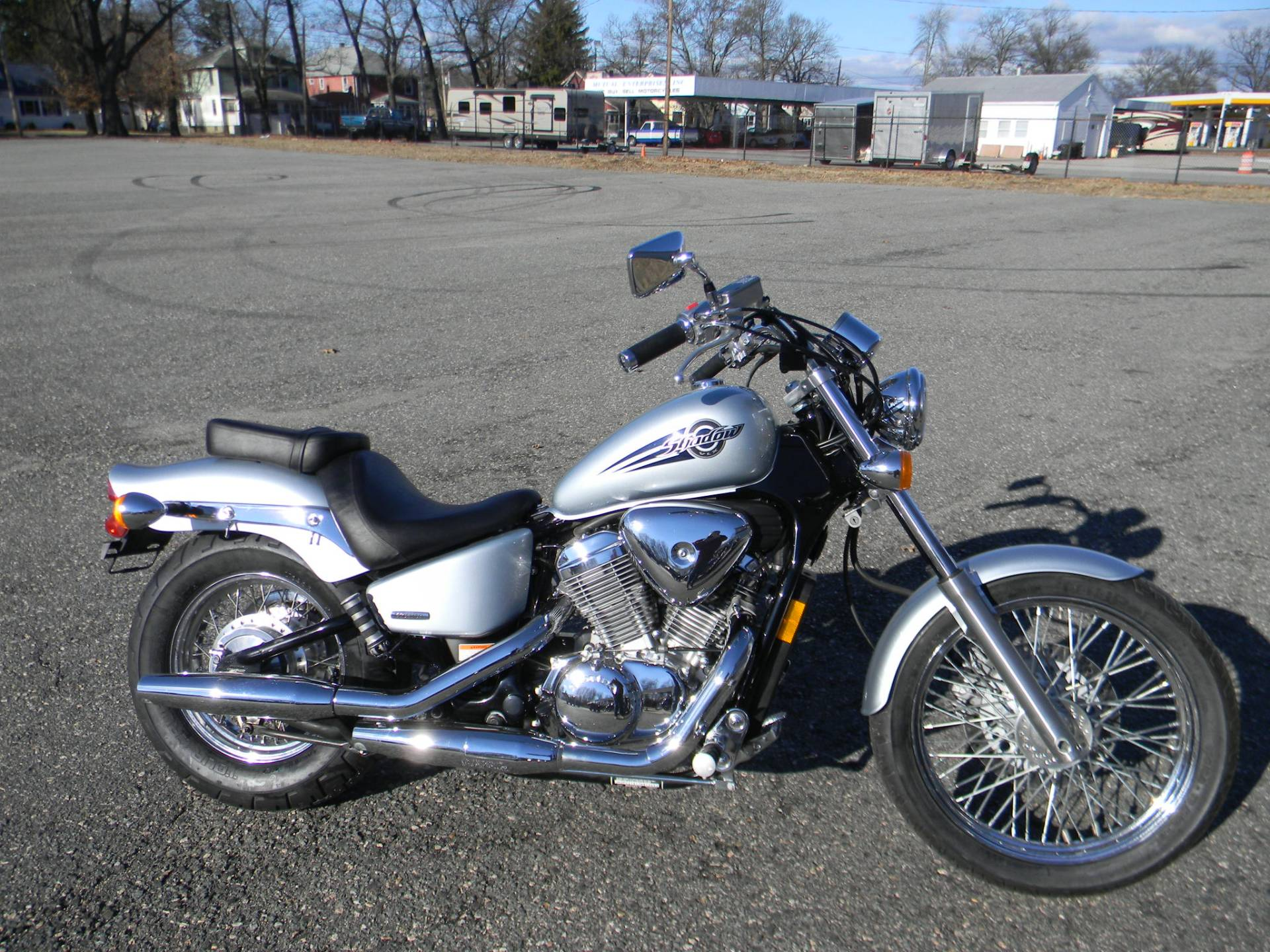 2007 Honda Shadow® VLX Deluxe in Springfield, Massachusetts