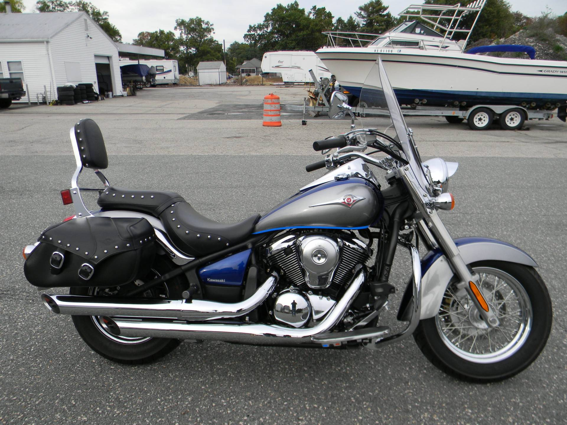 2010 Kawasaki Vulcan® 900 Classic LT in Springfield, Massachusetts - Photo 1