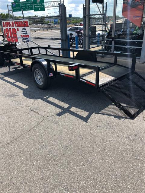 2018 Dakota 5X14 Utility Trailer in Little Rock, Arkansas