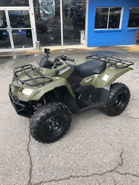 2015 Suzuki KingQuad 400FSi in Little Rock, Arkansas